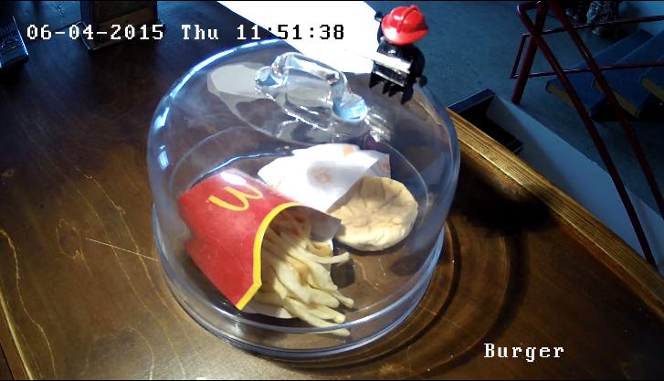 Le fameux burger, 6 ans après...
