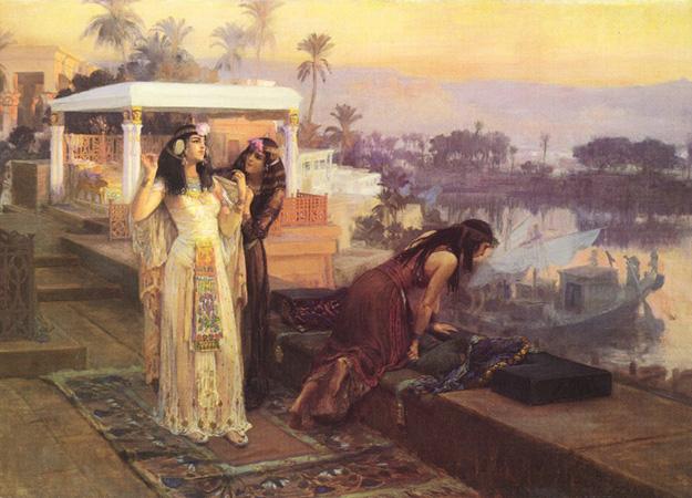 Frederick-Arthur-Bridgman-Cleopatra-on-the-Terraces-of-Philae-peau-astuces-beauté-cléopâtre