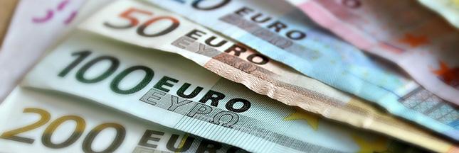 euros billets argent