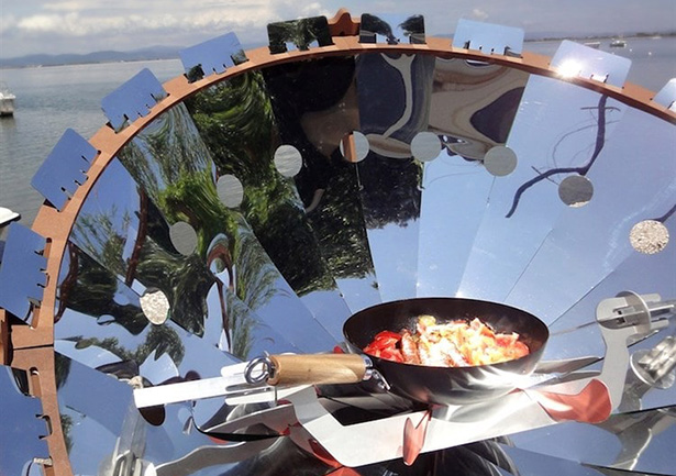 four barbecue solaire