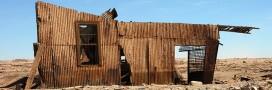 maison ruine désert tôle énergie