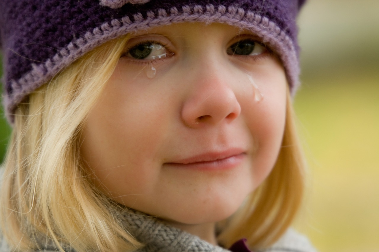 bobos pleurs enfants