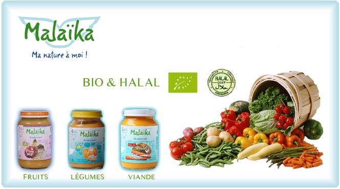Produits bio et halal pour petits