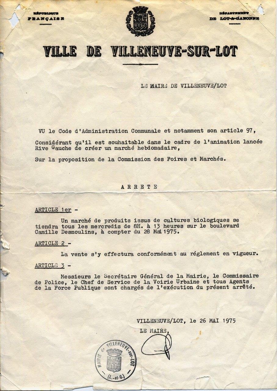 Villeneuve-sur-Lot: 40 ans déjà...