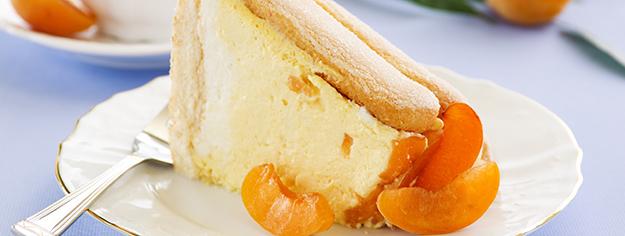 charlotte aux abricots, fruits d'été