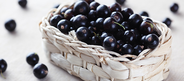 Cassis © Shutterstock http://www.shutterstock.com/fr/pic-217230277/stock-photo-fresh-blackcurrant-in-a-basket.html