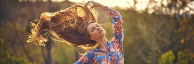 Chouchoutez naturellement vos cheveux en été...