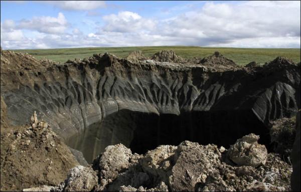 Methane permafrost
