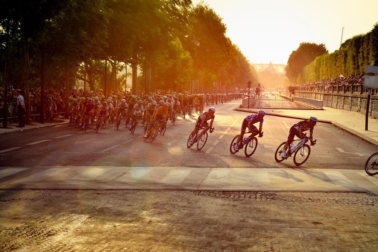 cyclistes vélo tour de france