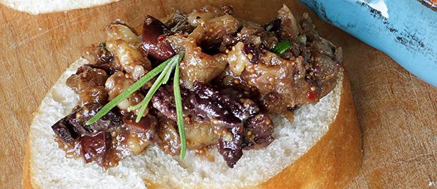 tapenade olive noire figues recette bio végétarienne sans anchois