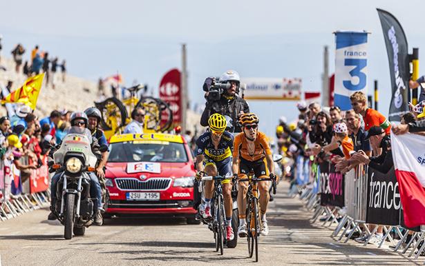 Tour de France Mont Ventoux