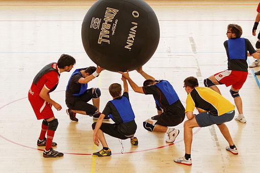 Activités tendance kin ball, sports fun