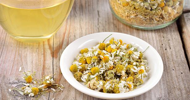 camomille bienfaits remède naturel séchée thé vin