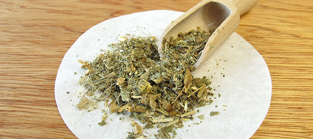 charbon bénit camomille bienfaits remède naturel séchée thé vin