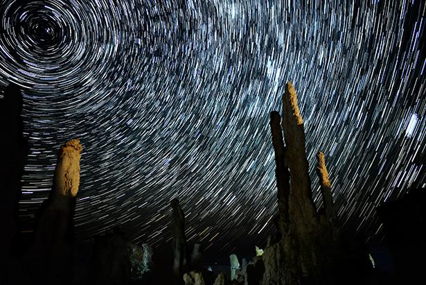 nuit des étoiles filantes voie lactée Perséides