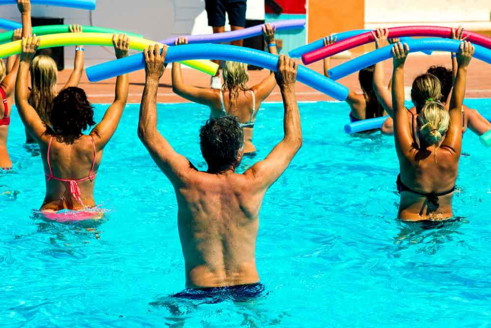 sports aquatiques aquagym