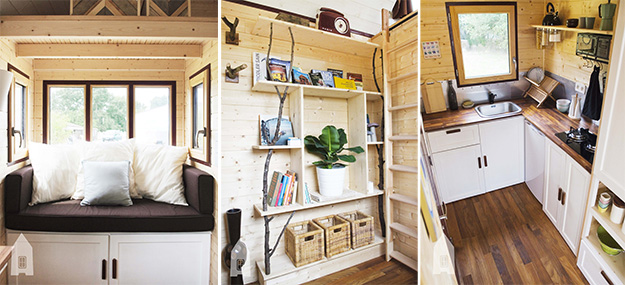 d couvrez la tiny house la fran aise en photos. Black Bedroom Furniture Sets. Home Design Ideas