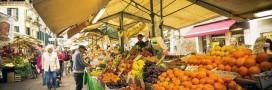 marché légumes fruits bio alimentation