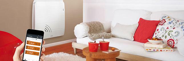 radiateurs connect s au service du confort et des conomies d 39 nergie. Black Bedroom Furniture Sets. Home Design Ideas