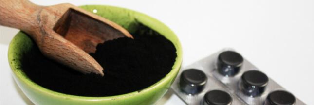 Charbon végétal : il purifie votre corps