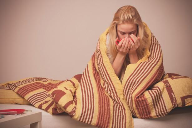 contre le rhume, sommeil, dormir avec un rhume