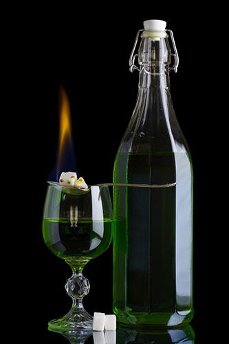 vin liqueur absinthe