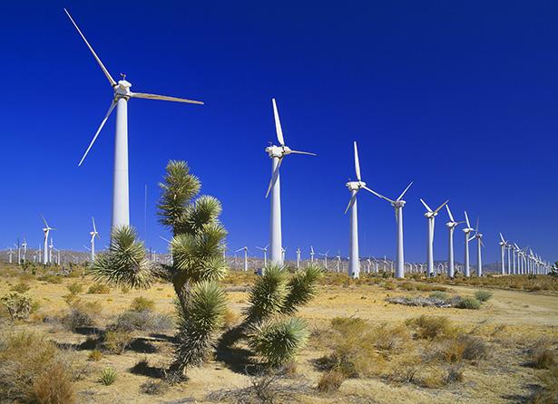énergies renouvelables californie désert mojave éoliennes