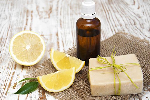 huile essentielle de citron HE cosmétique beauté naturel
