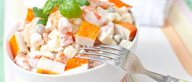 surimi crabe ingrédients composition