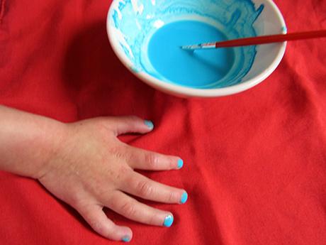 vernis ongles enfants