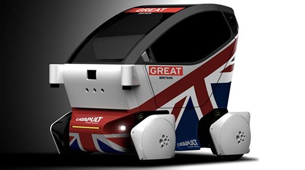En Angleterre, la Lutz Pathfinder du groupe RDM incarne le projet AutoDrive et est déjà testée dan certaines zones. ©RDM
