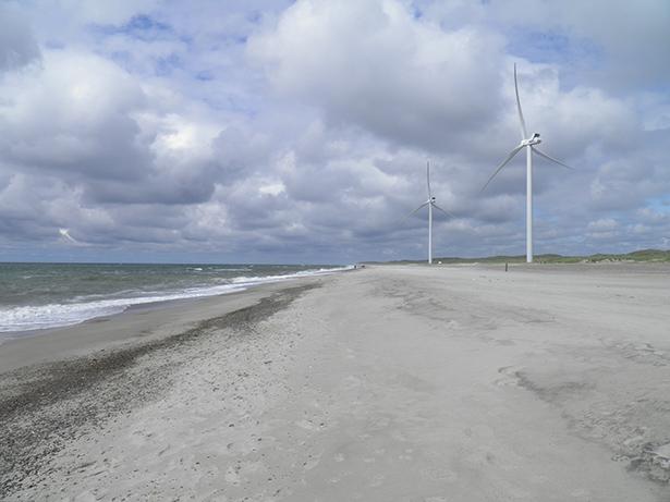 danemark éoliennes mer du nord