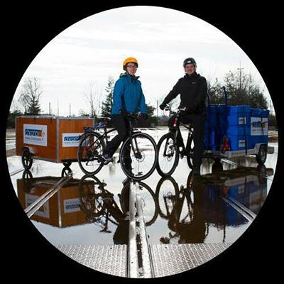 déménagement à vélo france