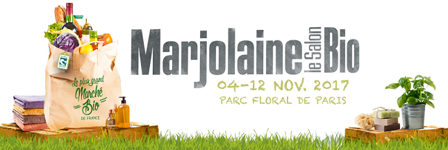 Participez au Salon Marjolaine 2017, le plus grand marché bio de France