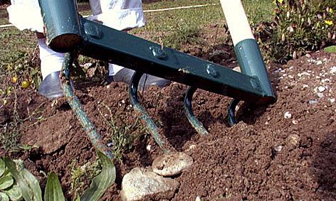 outil de jardinage grelinette