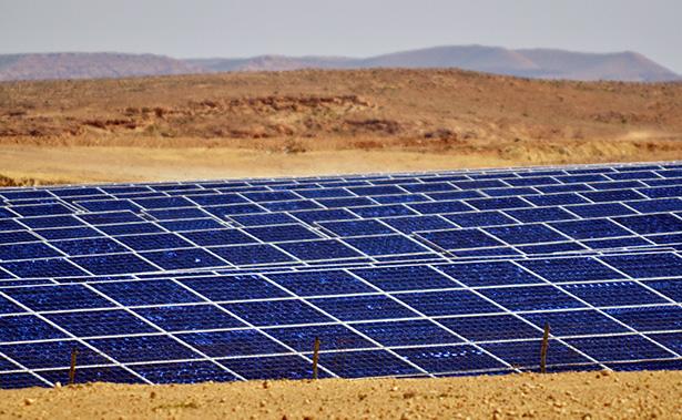 centrale solaire panneaux photovoltaique miroir maroc