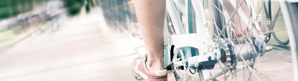 faire du vélo cycliste en ville