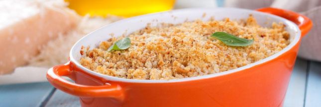Recette vegan : gratin de quinoa et de fromage frais vegan
