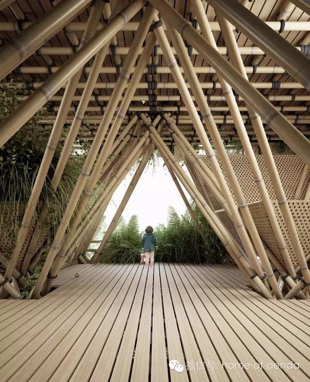 ville en bambou construction durable écoconstruction