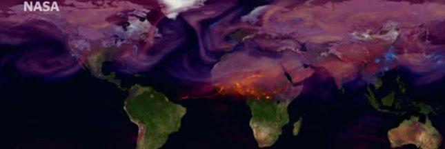 La carte des pays les plus pollueurs au monde dévoilée par la NASA