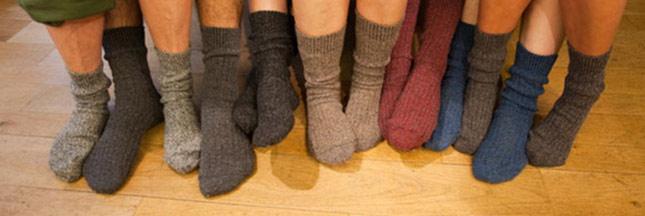Recyclage : les chaussettes orphelines s'offrent une seconde jeunesse