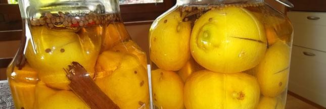 Préparez vos citrons confits pour l'hiver