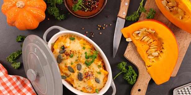 gratin de pâtes fromage