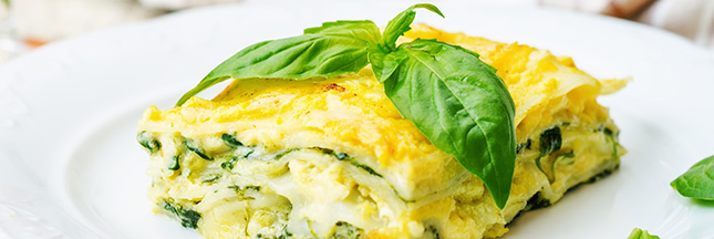 Lasagnes aux poireaux et au fromage de chèvre [recette végétarienne]
