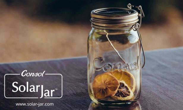 Lampe Solar Jar