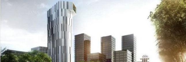 La 1ère tour de logements à énergie positive au monde va être construite à Strasbourg