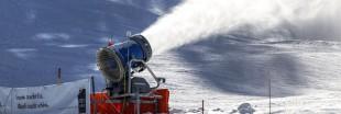 Les canons à neige face au réchauffement climatique