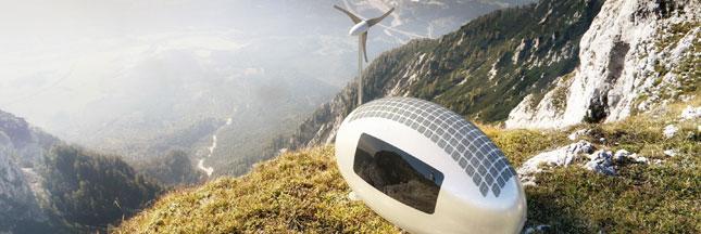 L'écocapsule, la maison mobile et 100% autonome en énergie