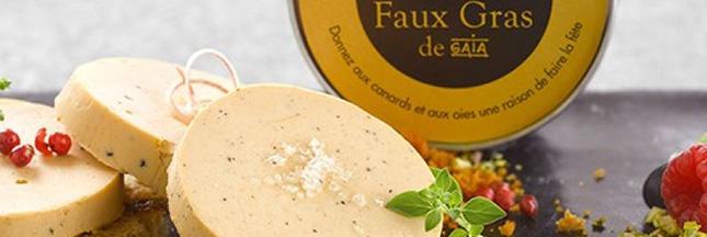 Faux Gras, le faux foie gras 100% végétal