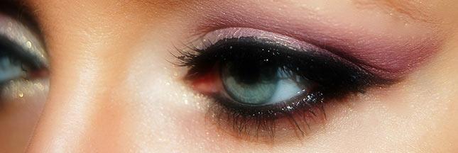 Soigner la conjonctivite due au mascara et au maquillage